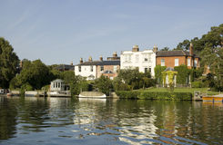 Река Темза на конце Bourne Стоковые Фотографии RF