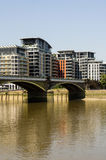 Река Темза Стоковая Фотография RF