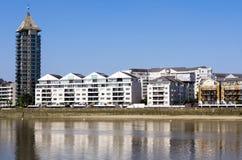 Река Темза Стоковое Фото