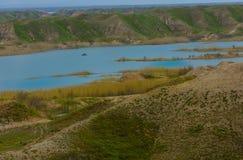 Река Тигр, Ирак Стоковые Изображения RF