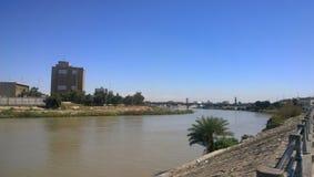 Река Тигр Стоковое Изображение