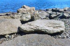 река трясет воду камней Стоковые Фото