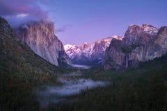 Река тумана Стоковое фото RF