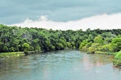 Река Турции весной Стоковые Изображения