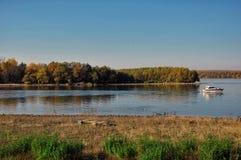 река Украина зоны панорамы kyiv dnipro Стоковая Фотография