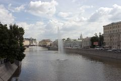 река фонтанов Стоковые Изображения