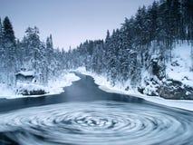 река хаты Стоковые Изображения RF