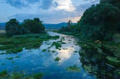 Река Хорватия цетины Стоковые Фотографии RF