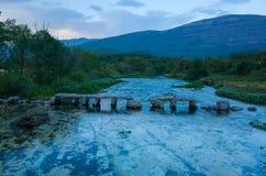 Река Хорватия Celina Стоковые Изображения RF