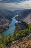 Река Хорватия Zrmanja стоковая фотография