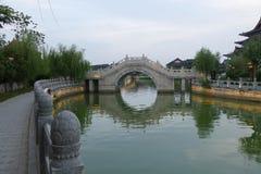 Река Хуанхэ в Кайфэне Китае Стоковая Фотография RF