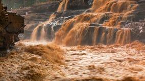 Река Хуанхэ в Китае Стоковые Изображения RF