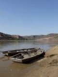 Река Хуанхэ, Китай Стоковое Фото