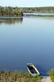 река шлюпки Стоковые Изображения