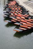 река шлюпок Стоковые Фотографии RF