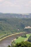Река Эльба стоковые фотографии rf