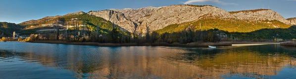 река 2 отражений Стоковое Изображение