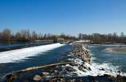 река adda Стоковое Изображение