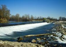 река adda Стоковое Изображение RF