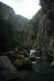Река Akchour Стоковые Изображения