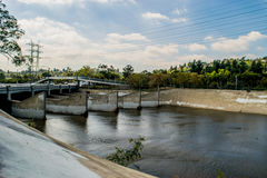 река angeles los Стоковое фото RF