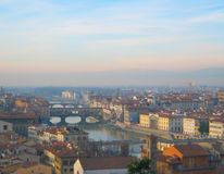 река arno florence Италии стоковая фотография rf