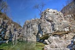 Река Arsiero Стоковые Изображения