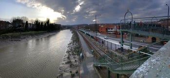 река avon bristol Англия Стоковые Фотографии RF