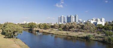 Река Ayalon Стоковая Фотография