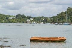 Река Belon в Бретани Стоковые Изображения