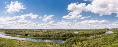 Река Berezina Стоковые Фотографии RF
