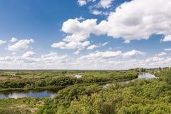Река Berezina Стоковые Изображения RF