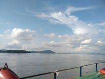 Река Brahmaputra стоковая фотография rf