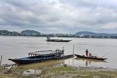 Река Brahmaputra Стоковые Изображения