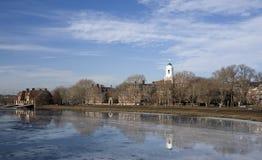 река cambridge charles massachusetts Стоковая Фотография