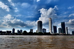 Река Chao Phraya Стоковые Изображения RF
