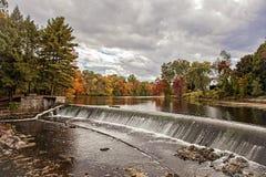 Река Charles в осени стоковая фотография rf