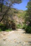 Река Chillar, Nerja, Малага Стоковая Фотография