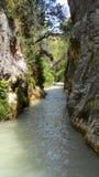 Река Chillar, Nerja, Малага Стоковая Фотография RF