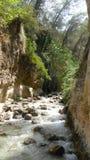 Река Chillar, Nerja, Малага Стоковое фото RF