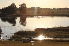 Река Chobe Стоковые Изображения