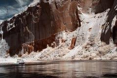 река colorado гребли Стоковая Фотография