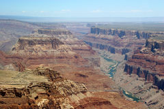 река colorado каньона грандиозное Стоковое фото RF