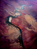река colorado каньона грандиозное Стоковые Фотографии RF