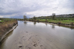 река coquitlam стоковое изображение