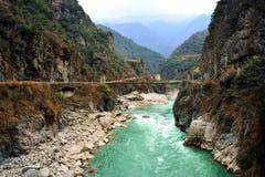 река dadu Стоковые Изображения