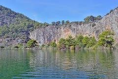 Река Dalaman в Турции стоковое фото rf