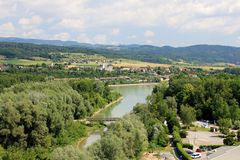река danube Стоковые Изображения