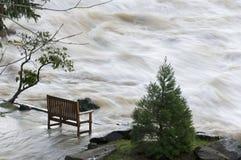 река deschutes переполняя Стоковые Фотографии RF