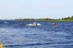 Река Dnieper Стоковая Фотография